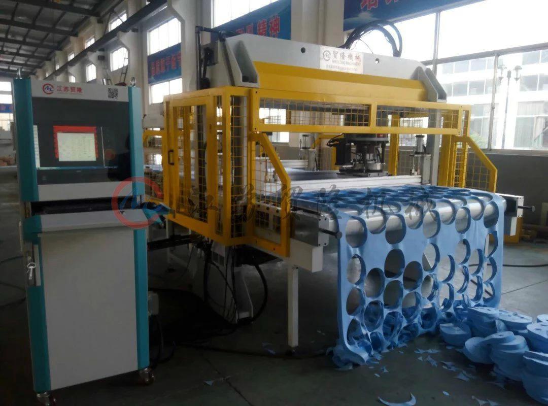 贸隆机械 全自动CAD排版皮带式裁断机