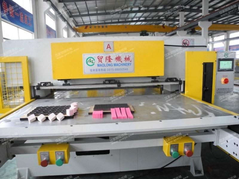 贸隆机械 粉扑化妆棉成型模切机