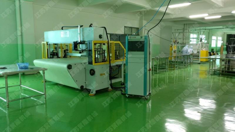 贸隆机械 全自动面膜纸阿通裁断机
