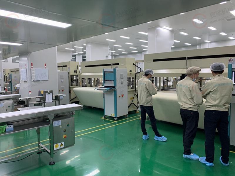 贸隆机械 全自动面膜裁切生产线