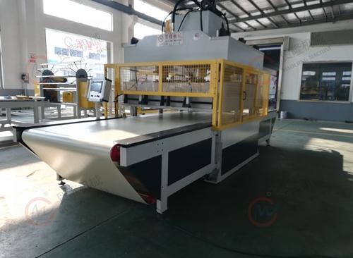 天津贸隆机械 全自动玻纤维棉裁切机