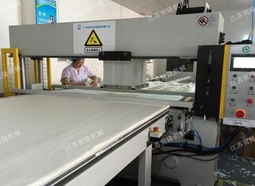 贸隆机械 平板面膜裁断机