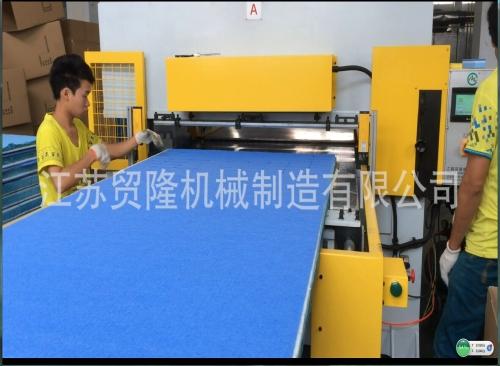 贸隆机械 双边送料液压裁断机
