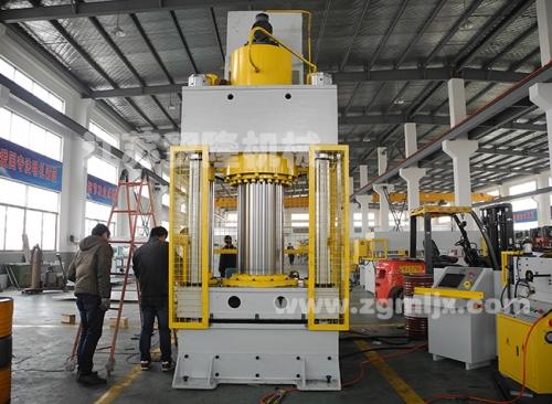 贸隆机械 大吨位油压裁断机