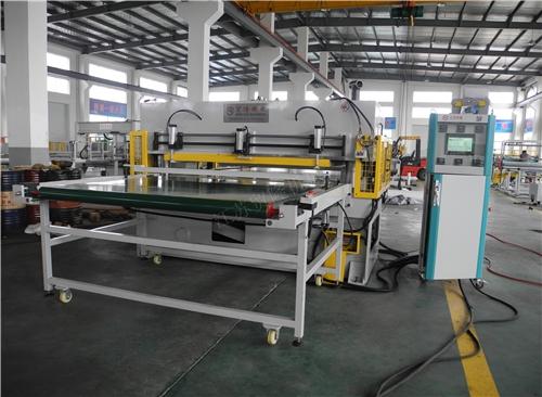 北京贸隆机械 双组份吸音棉裁断机