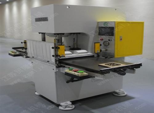 贸隆机械 全自动双工位精密半切机