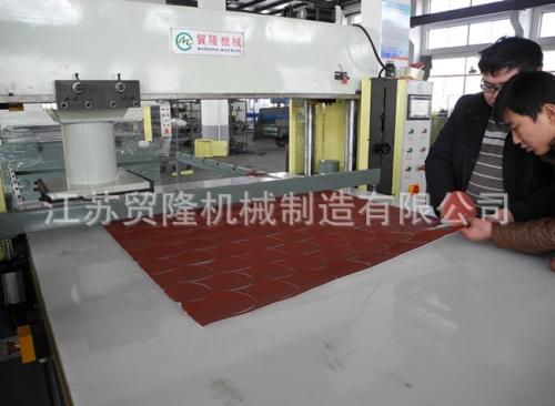 贸隆机械 全自动移动式砂纸裁断机