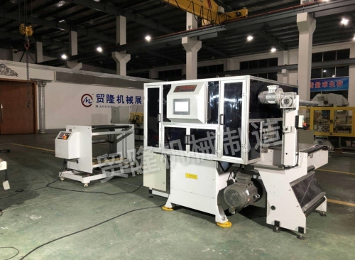 南京贸隆机械 全自动光学膜片高速模切机
