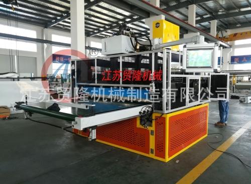 天津贸隆机械 汽车内饰件地毯成型阿通裁断机