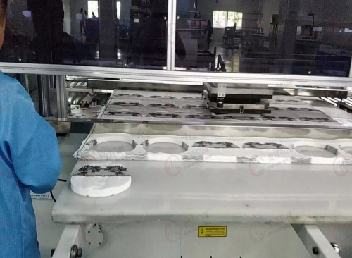 贸隆机械 全自动图案面膜成型裁断机