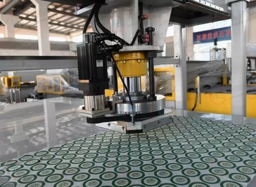 南京贸隆机械 全自动CCD成像定位裁断机