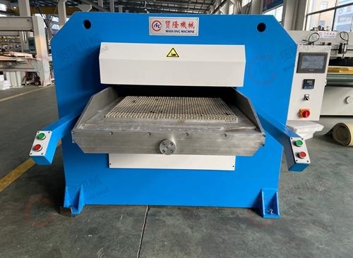 广州贸隆机械 皮革成型压花机
