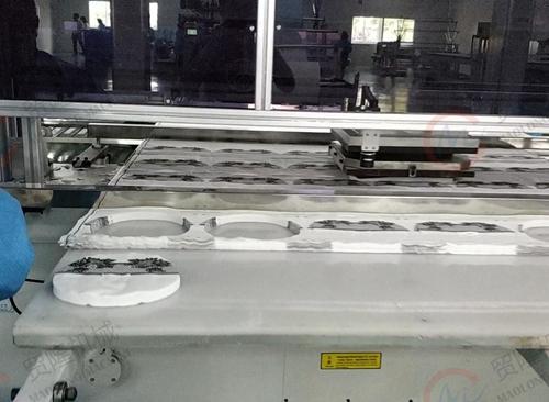 长沙贸隆机械 全自动图案面膜成型裁断机