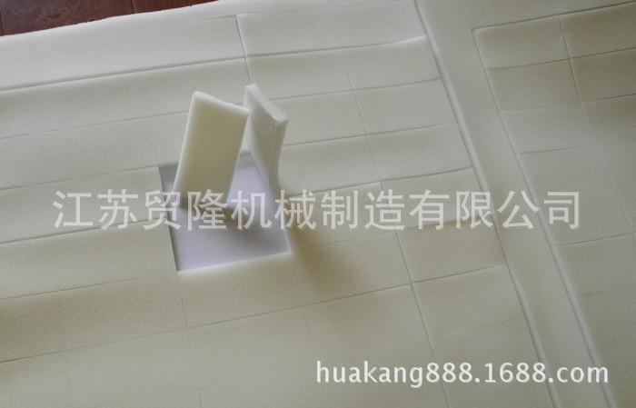 珍珠棉海绵丝花工艺品半切机