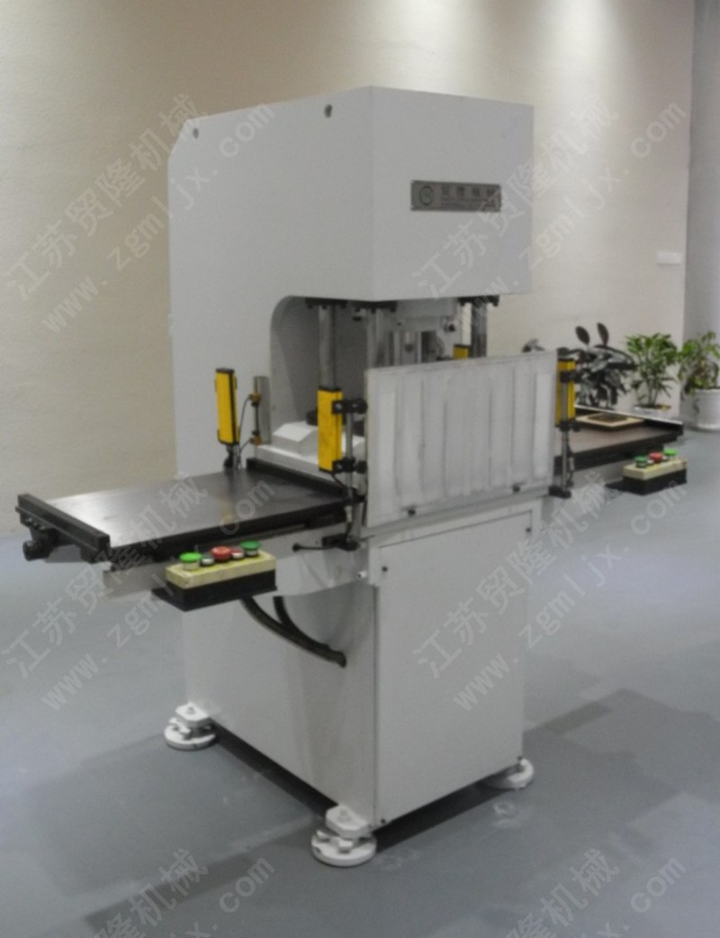 双工位高精度半切机,全自动半断机,海绵不干胶半切机